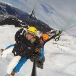 paragliding Meribel